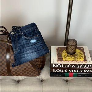 Express Jeans Mid Rise Legging Size 6 Regular